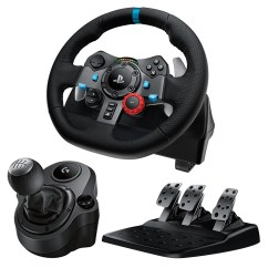 Steering Wheel Pc Tooth Anatomy Diagram Logitech G29 Driving Force Racing Dual Motor Feedback With Shifter Bundle For And Ps4 Walmart Com