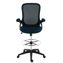 Mesh Drafting Chair Albee Baby High Symple Stuff Labounty Walmart Com
