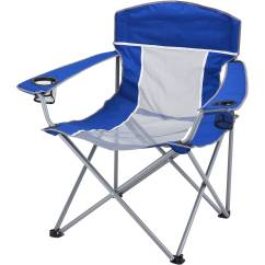 Camping Chairs At Walmart White Ladder Back Rush Seats Ozark Trail Xxl Steel Frame Comfort Mesh Chair With Carry Bag Com