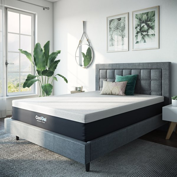 Modern Sleep 12- Cool Gel Memory Foam Mattress Queen