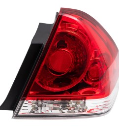 brock taillight tail lamp passenger replacement for 06 13 chevrolet impala and 14 16 impala limited 25971598 walmart com [ 1000 x 1000 Pixel ]