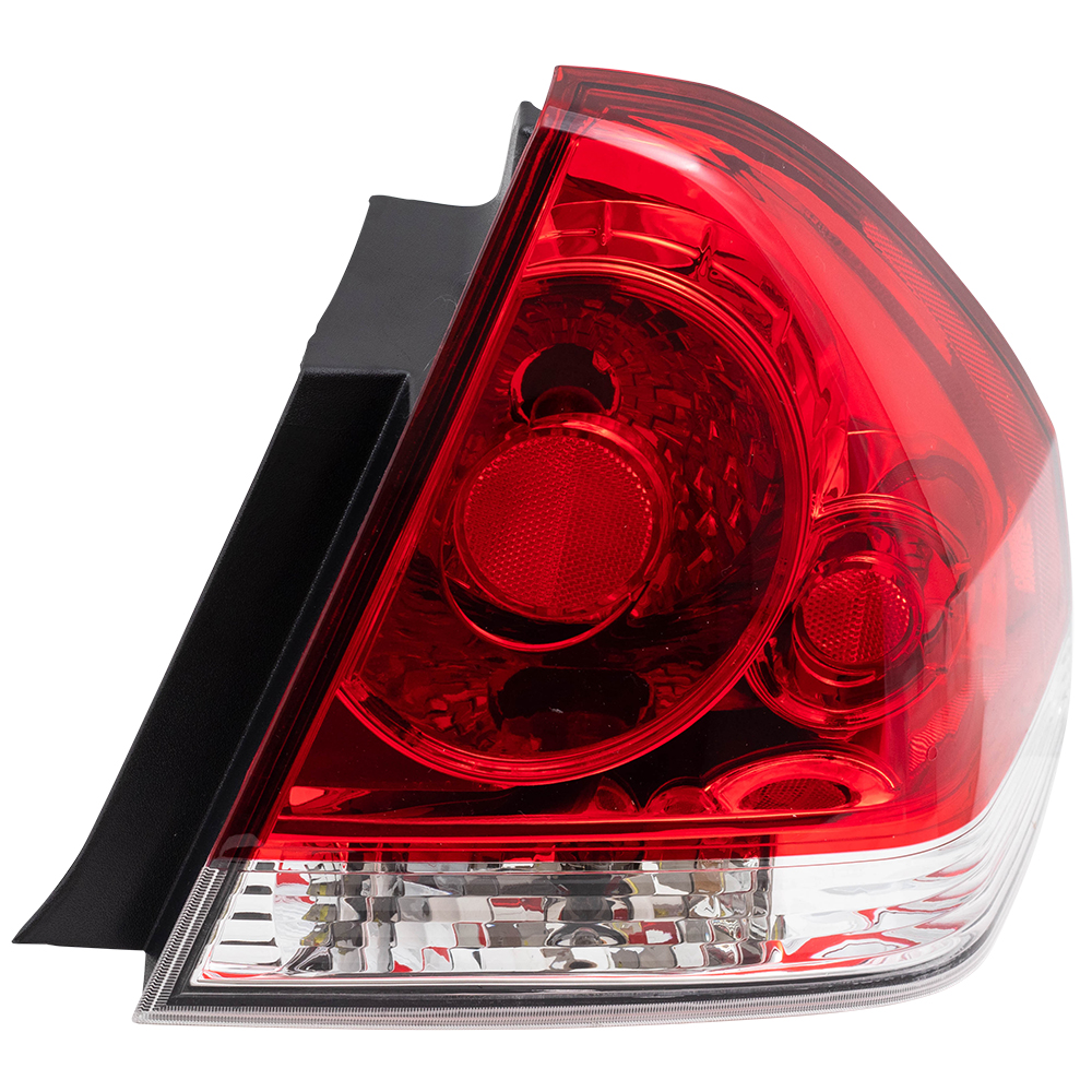 hight resolution of brock taillight tail lamp passenger replacement for 06 13 chevrolet impala and 14 16 impala limited 25971598 walmart com