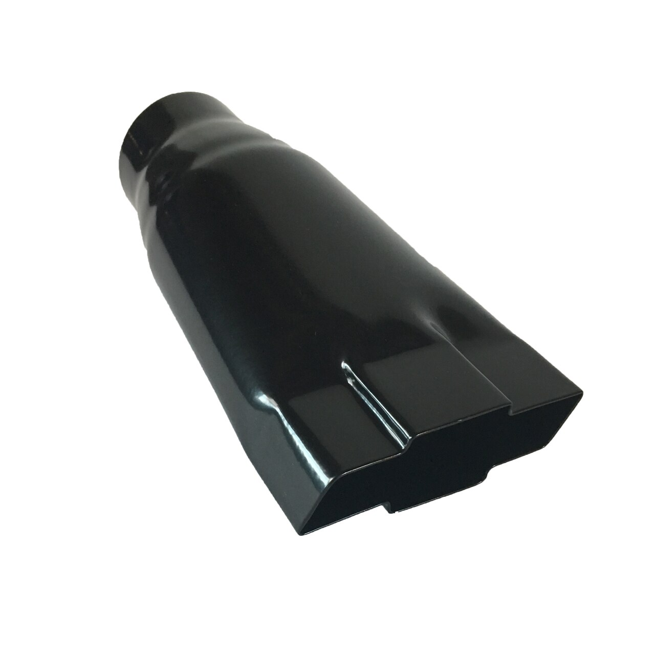 exhaust tip 4 75 outlet 9 00 long 2 25 inlet chevy black bowtie stainless wesdon exhaust tip walmart com