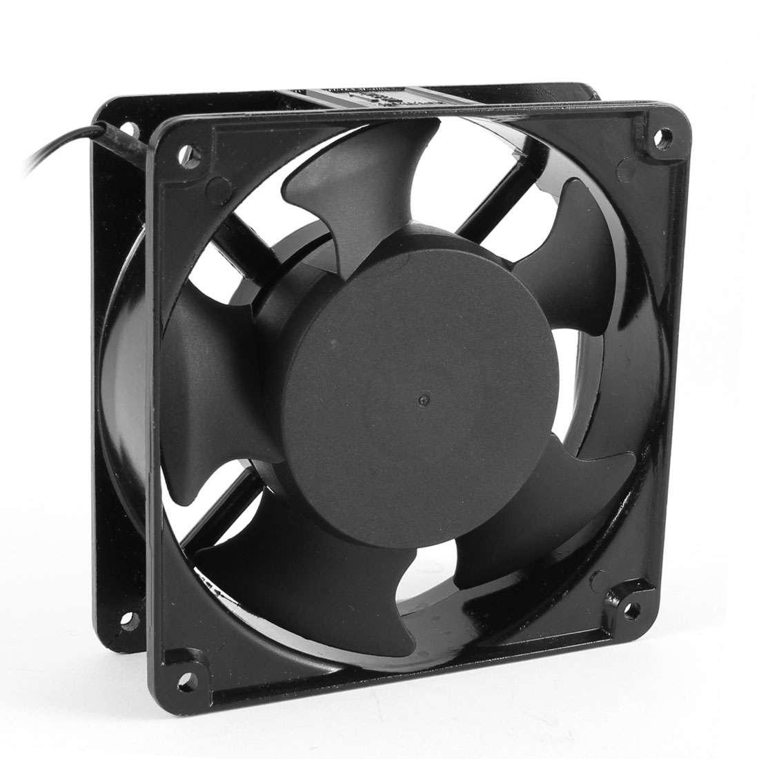 ac 220v 240v black aluminum pc case cooling fan cooler 2 wire ac to a computer fan wiring [ 1100 x 1100 Pixel ]