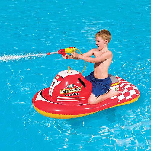 Splash And Play Wave Attack 55 Inflatable Ride On Pool