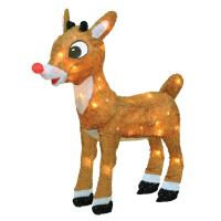 """18"""" Pre-Lit Rudolph the Red-Nosed Reindeer Outdoor ..."""