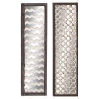 Decmode Wood Mirror Wall Panel, Multi Color - Walmart.com
