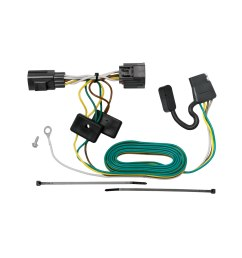 tekonsha 118416 trailer wiring connector t one 4 way flat oem wiring harness connectors [ 1500 x 1500 Pixel ]