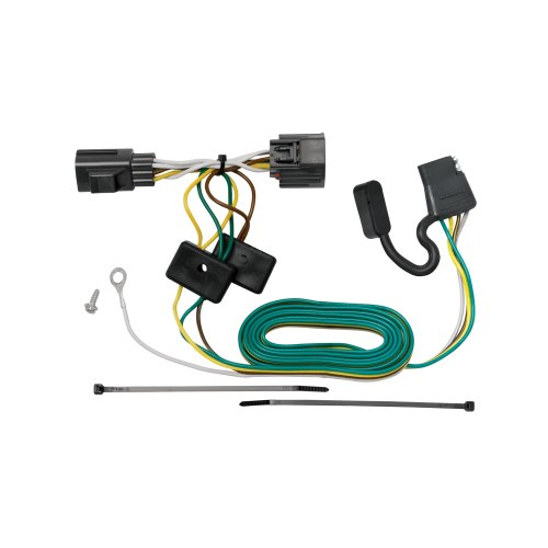 small resolution of tekonsha 118416 trailer wiring connector t one 4 way flat oem wiring harness connectors