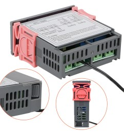 digital stc 1000 all purpose temperature controller thermostat with sensor 220v walmart com [ 1600 x 1600 Pixel ]