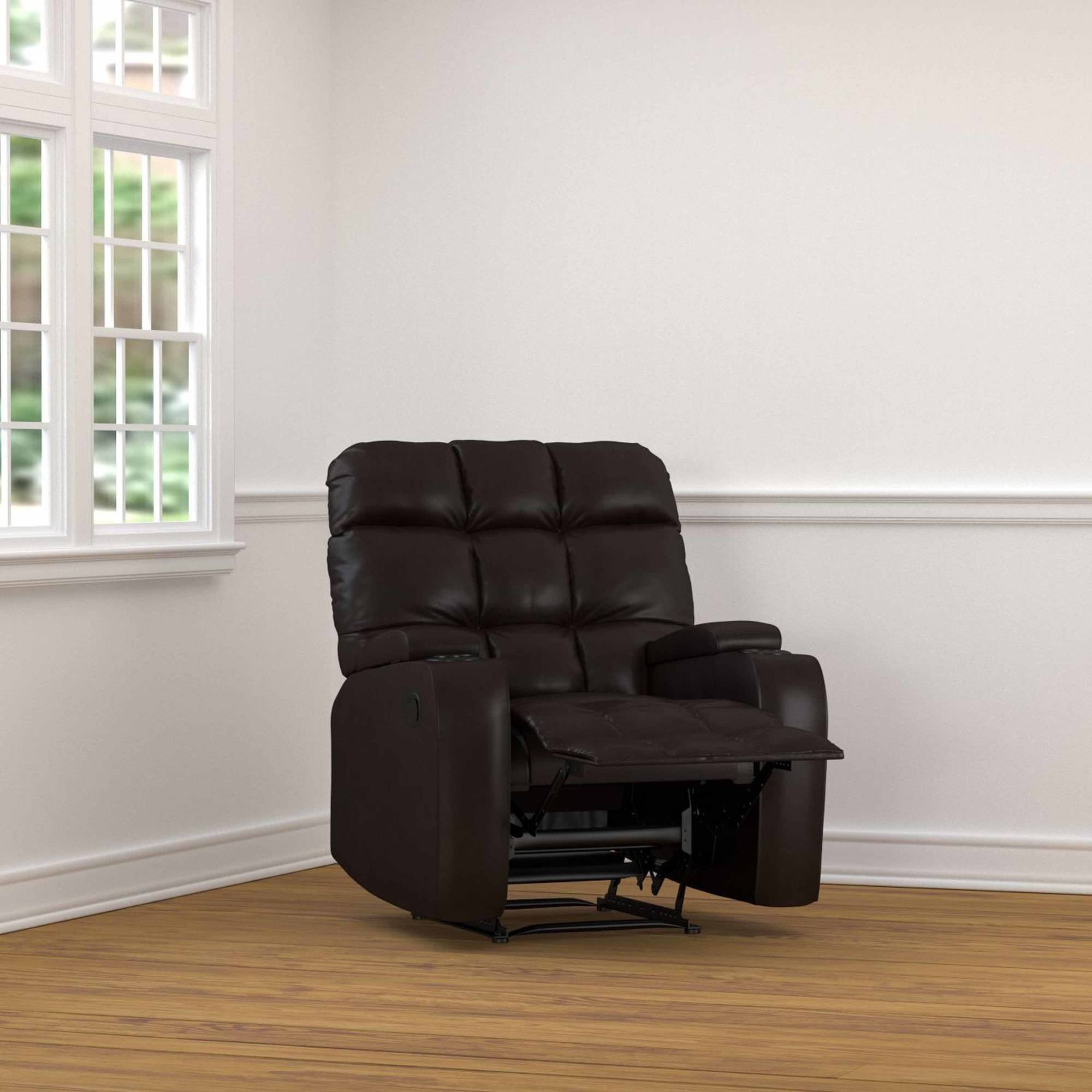 wall hugger recliner chair best gaming chairs prolounger storage in renu leather walmart com