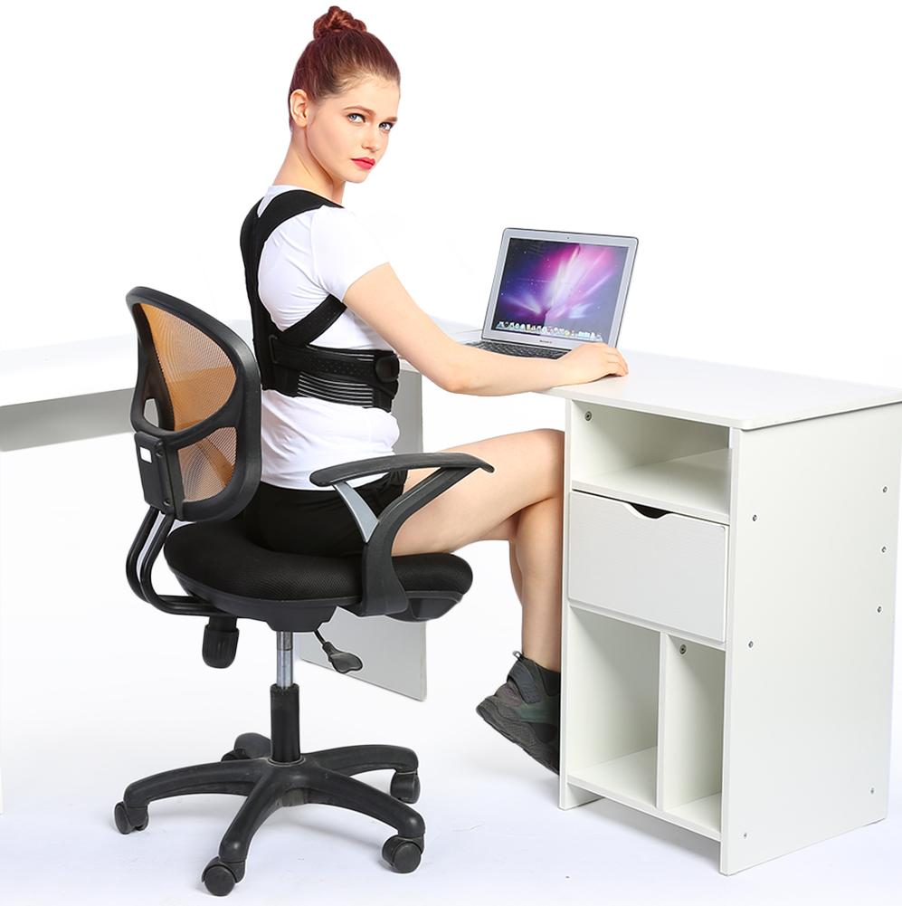 posture corrector for office chair value city dining table and chairs ejoyous clavicle support brace walmart com