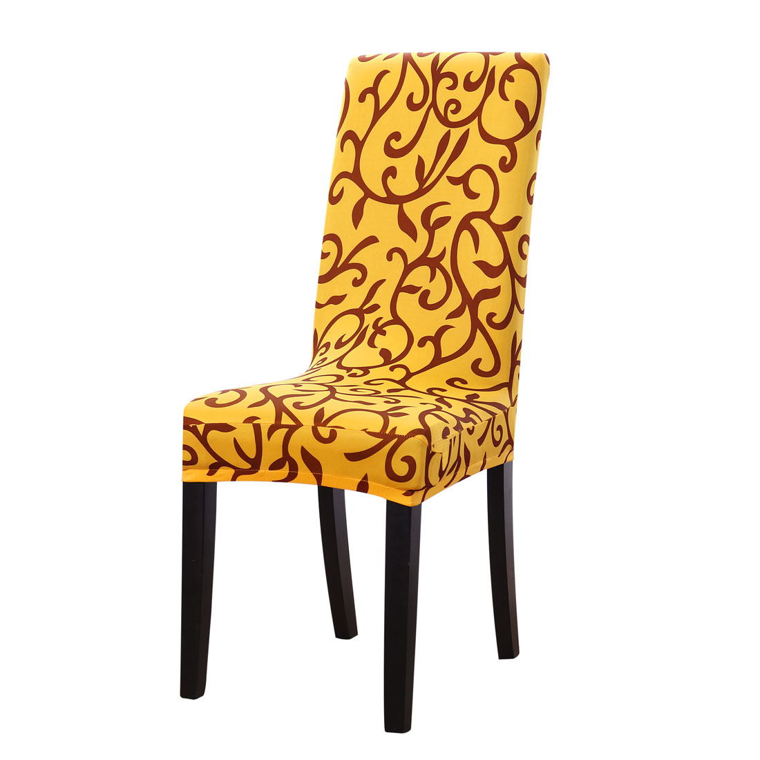 dining chair covers walmart sling fabric replacement piccocasa stretch spandex slipcover printed