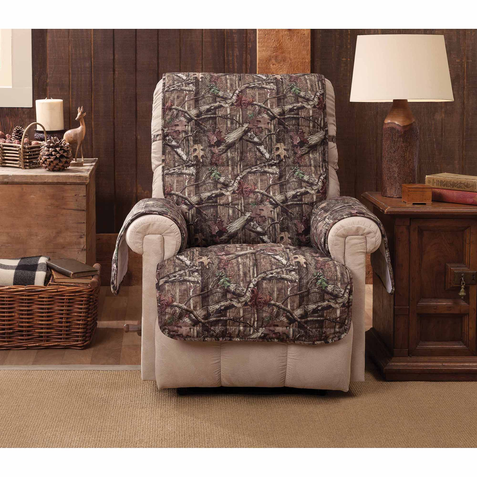 Break Up Infinity Camouflage Recliner Wing Chair Protector Walmart Com