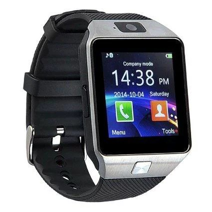 DZ09 Bluetooth Smart Wrist Watch With Health Monitoring Calls Texts For Android and iPhone – SILVER