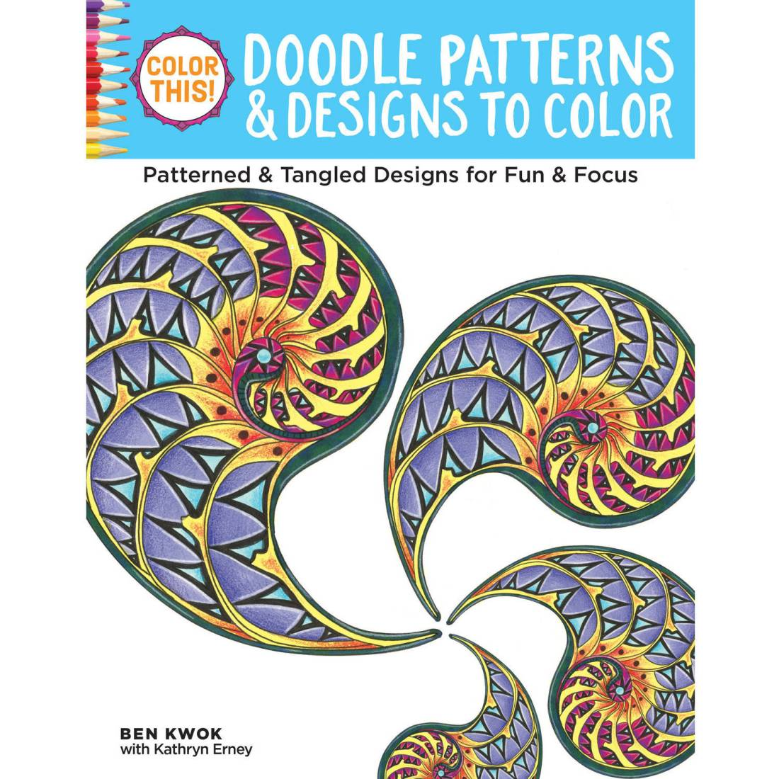 color this! doodle patterns and designs to color adult