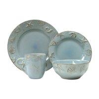 Thomson Pottery Cape Cod 16 Piece Dinnerware Set - Walmart.com