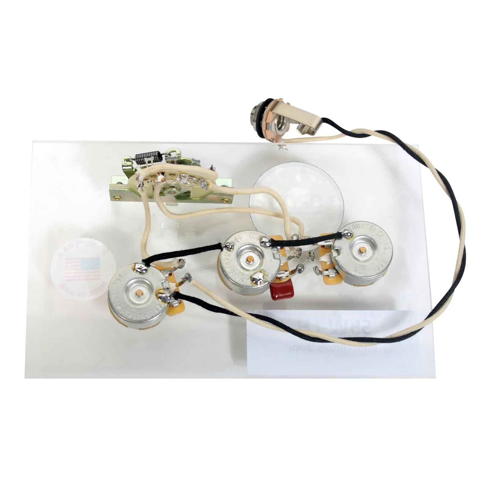 medium resolution of 920d custom shop strat stratocaster left handed 5 way wiring harness 920d custom shop strat stratocaster