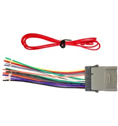 enrock wiring harness for connection of a stereo for select gm chevrolet pontiac and toyota vehicles 2000 2008 walmart com [ 1600 x 1600 Pixel ]