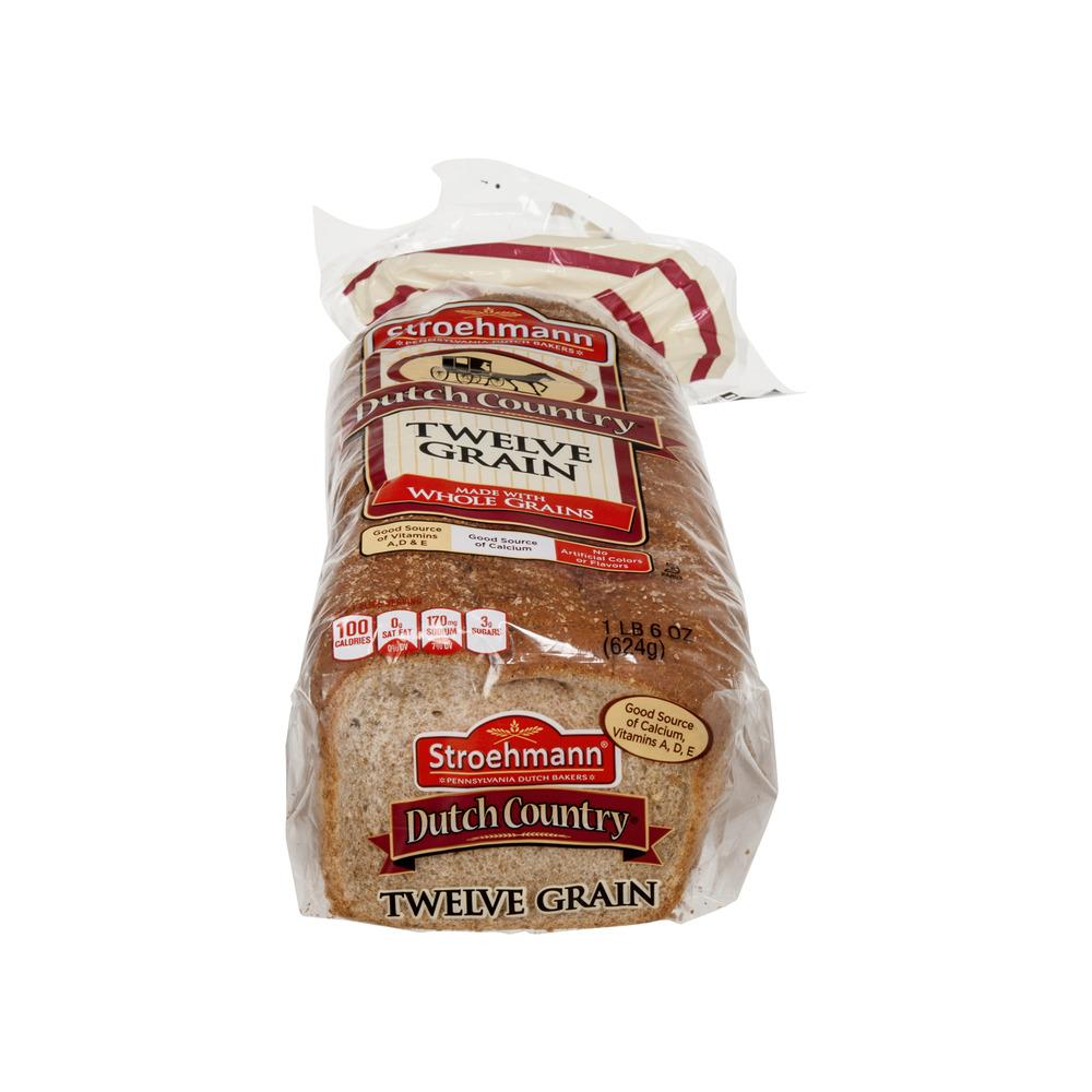 Stroehmann Dutch Country Bread Twelve Grain 220 OZ
