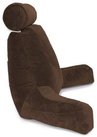 Chocolate COVER ONLY -For the Husband Pillow - Bedrest ...