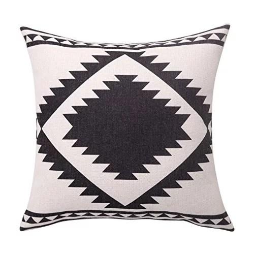 sofa box cushion covers e breezylife aztec throw pillow geometric decorative departments