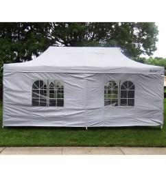 palm springs outdoor 10 x 20 wedding party tent gazebo canopy with sidewalls walmart com [ 2000 x 2000 Pixel ]