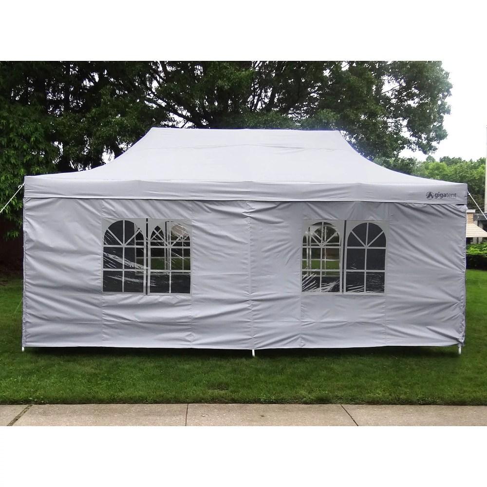 medium resolution of palm springs outdoor 10 x 20 wedding party tent gazebo canopy with sidewalls walmart com