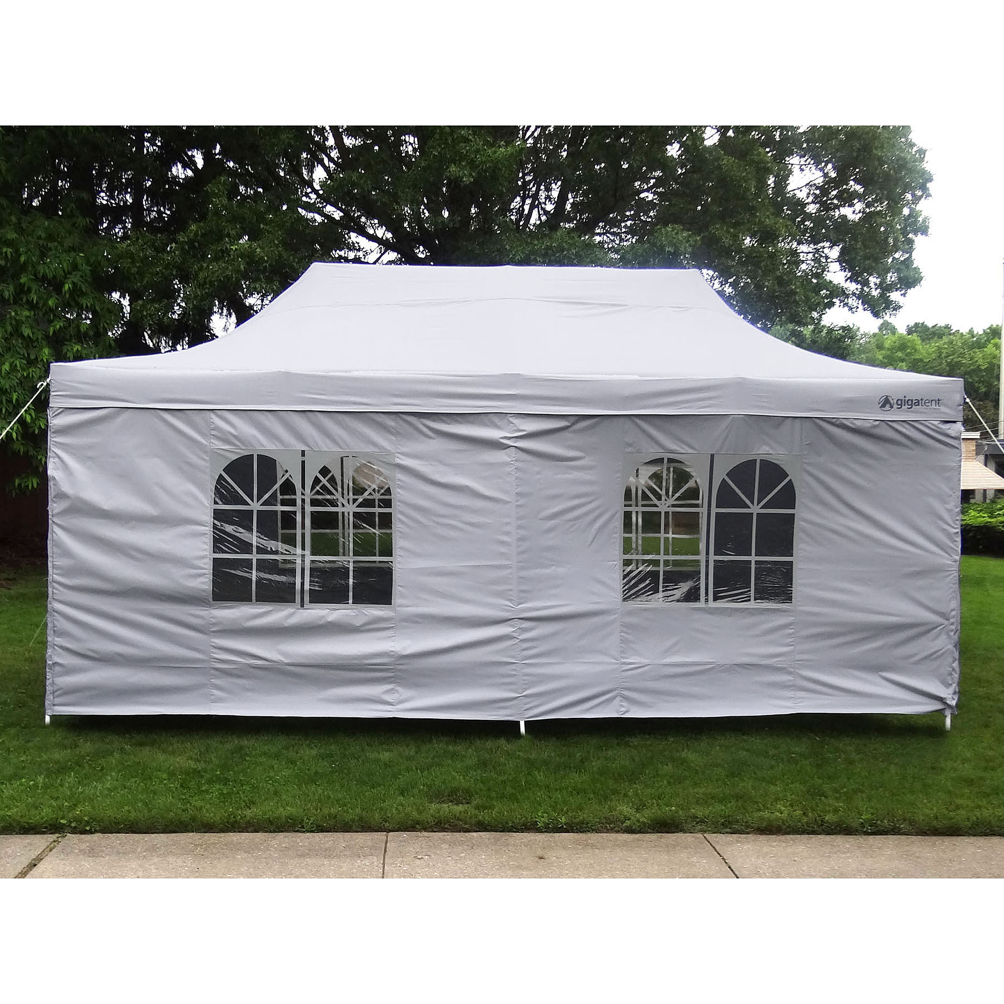 hight resolution of palm springs outdoor 10 x 20 wedding party tent gazebo canopy with sidewalls walmart com