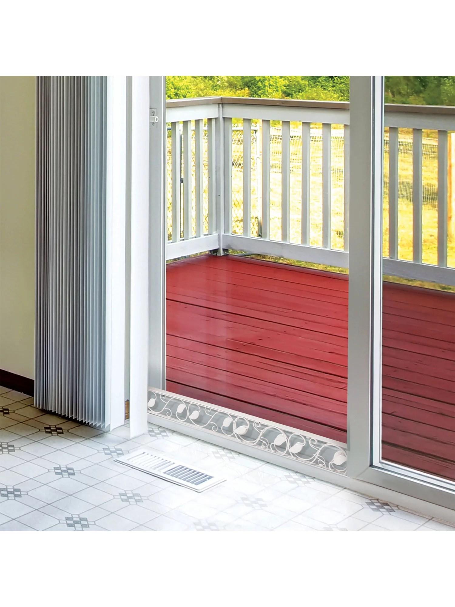 u s patrol sliding door security bar decorative adjustable glass patio door jammer door stopper blocker fits in track to prevent opening