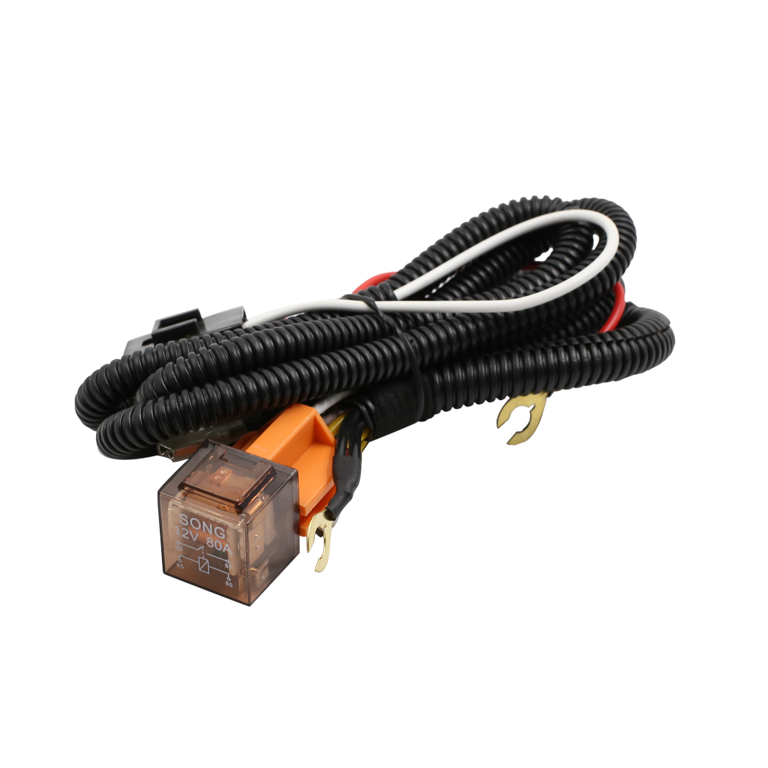 hight resolution of universal dc 12v 80a auto car truck horn speaker wiring harness relay kit walmart com