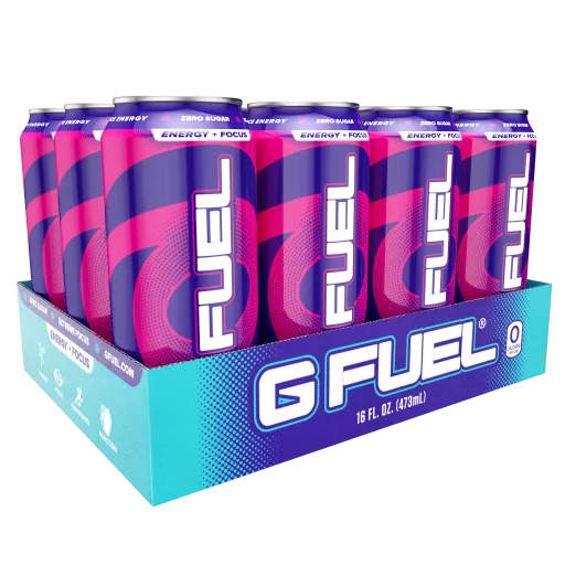 (12 Cans) G Fuel FaZeberry Sugar Free Energy Drink 16 fl ...