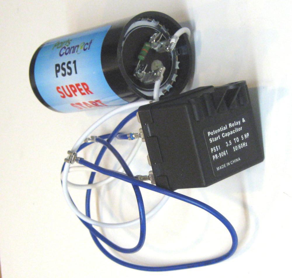 medium resolution of hvac air conditioning super torque kick start potential relay capacitor pss1 walmart com