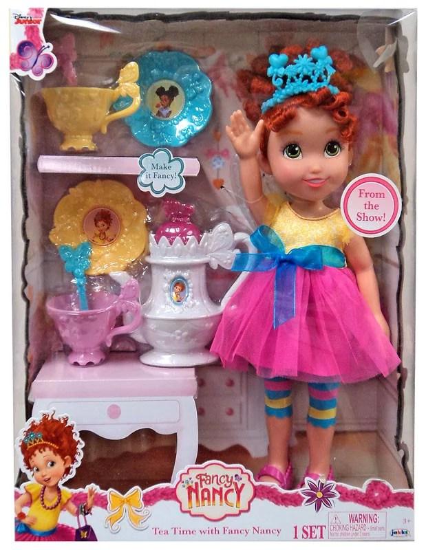Disney Junior Tea Time With Fancy Nancy Doll Walmart