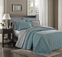Chezmoi Collection Kingston 3-Piece Oversized Bedspread ...