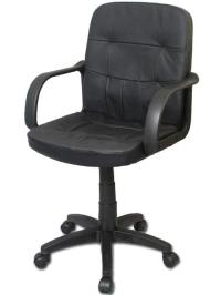 Bodymade Leather Computer Chair, Black - Walmart.com