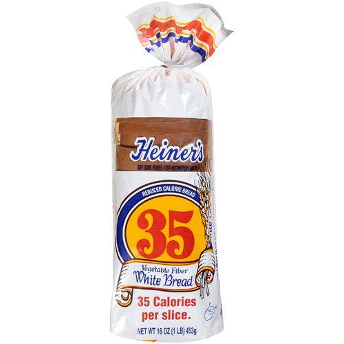Heiner?s 35 Reduced Calorie White Bread 16 oz - Walmart.com