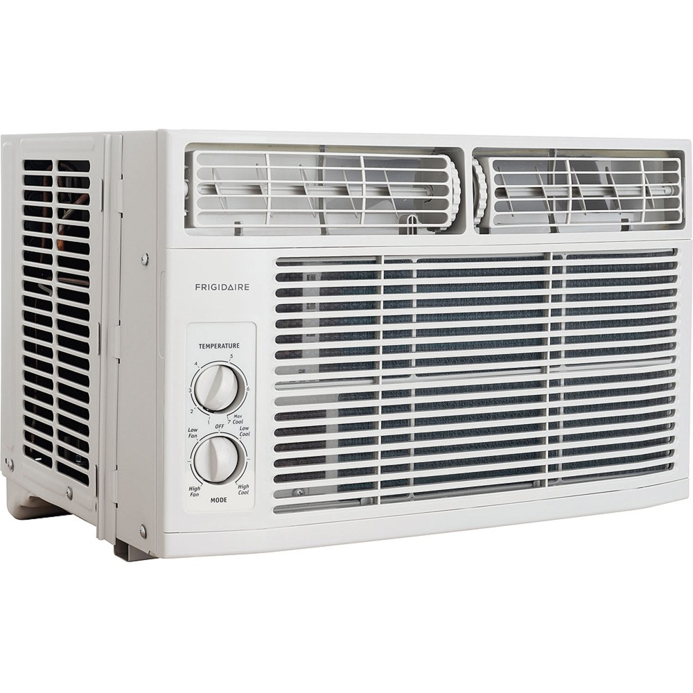 medium resolution of frigidaire ffra0811r1 8 000 btu 115v window mounted mini compact air conditioner with mechanical controls walmart com