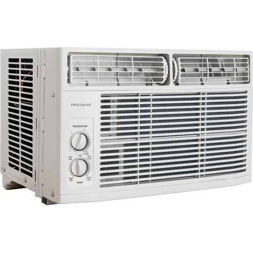 small resolution of frigidaire ffra0811r1 8 000 btu 115v window mounted mini compact air conditioner with mechanical controls walmart com