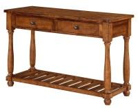 Sofa Table in Acacia Finish