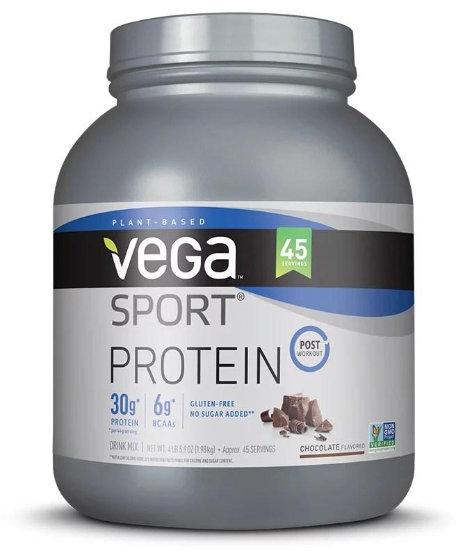 vega sport premium plant protein powder