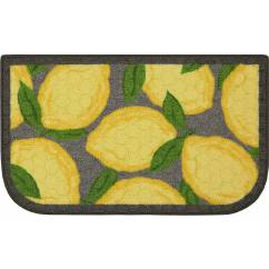 Yellow Kitchen Rugs Cost For Better Homes And Gardens Lemon Rug Walmart Com