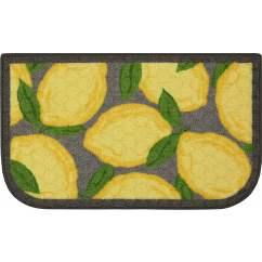 Lemon Kitchen Rug Best Flooring For Kitchens Better Homes And Gardens Walmart Com
