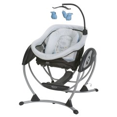 Graco Swing Chair Zebra High Top Outdoor Table And Chairs Dreamglider Gliding Baby Sleeper Hattie Walmart Com