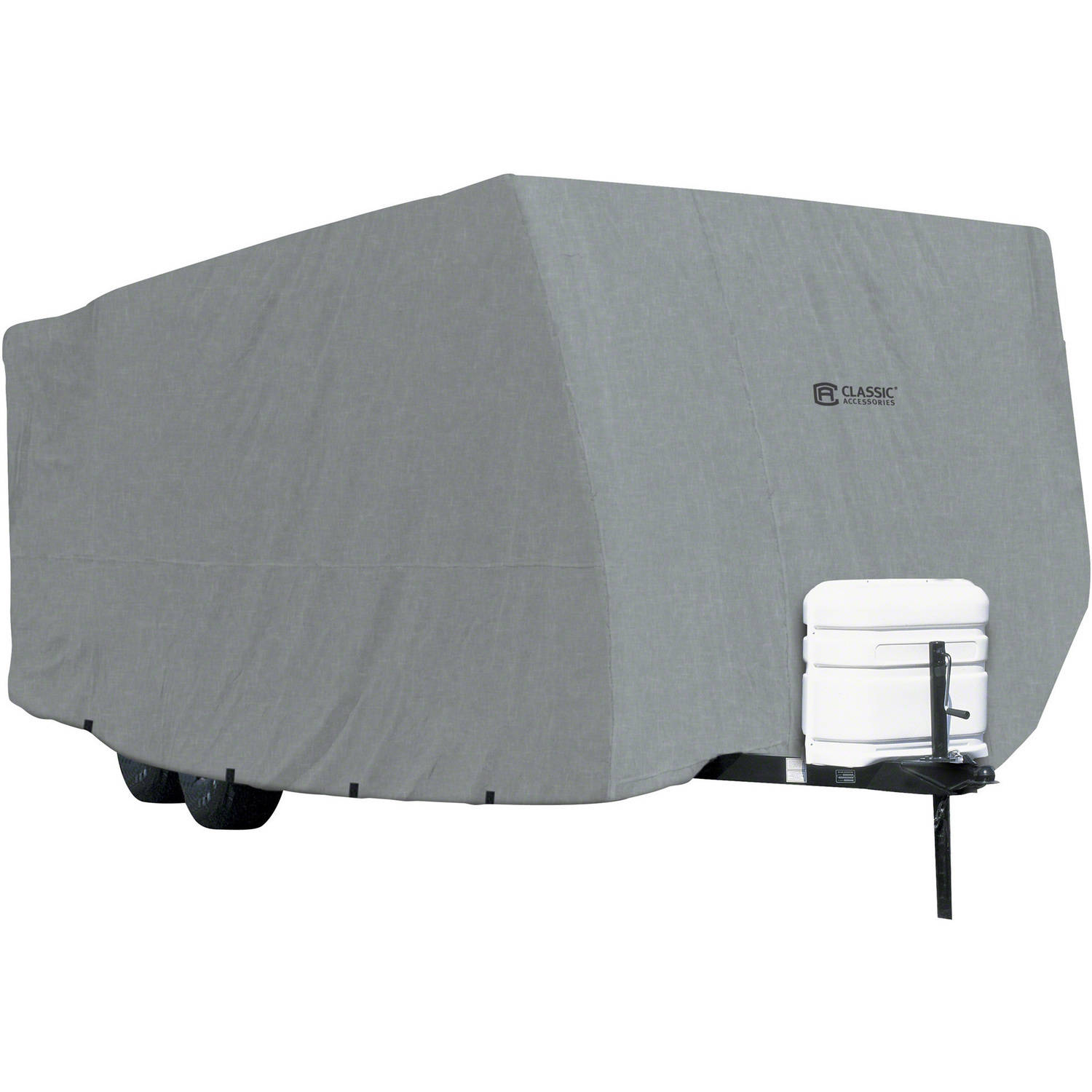 Classic Accessories OverDrive PolyPRO 1 Travel Trailer RV Cover Fits 20  38 RVs  Breathable