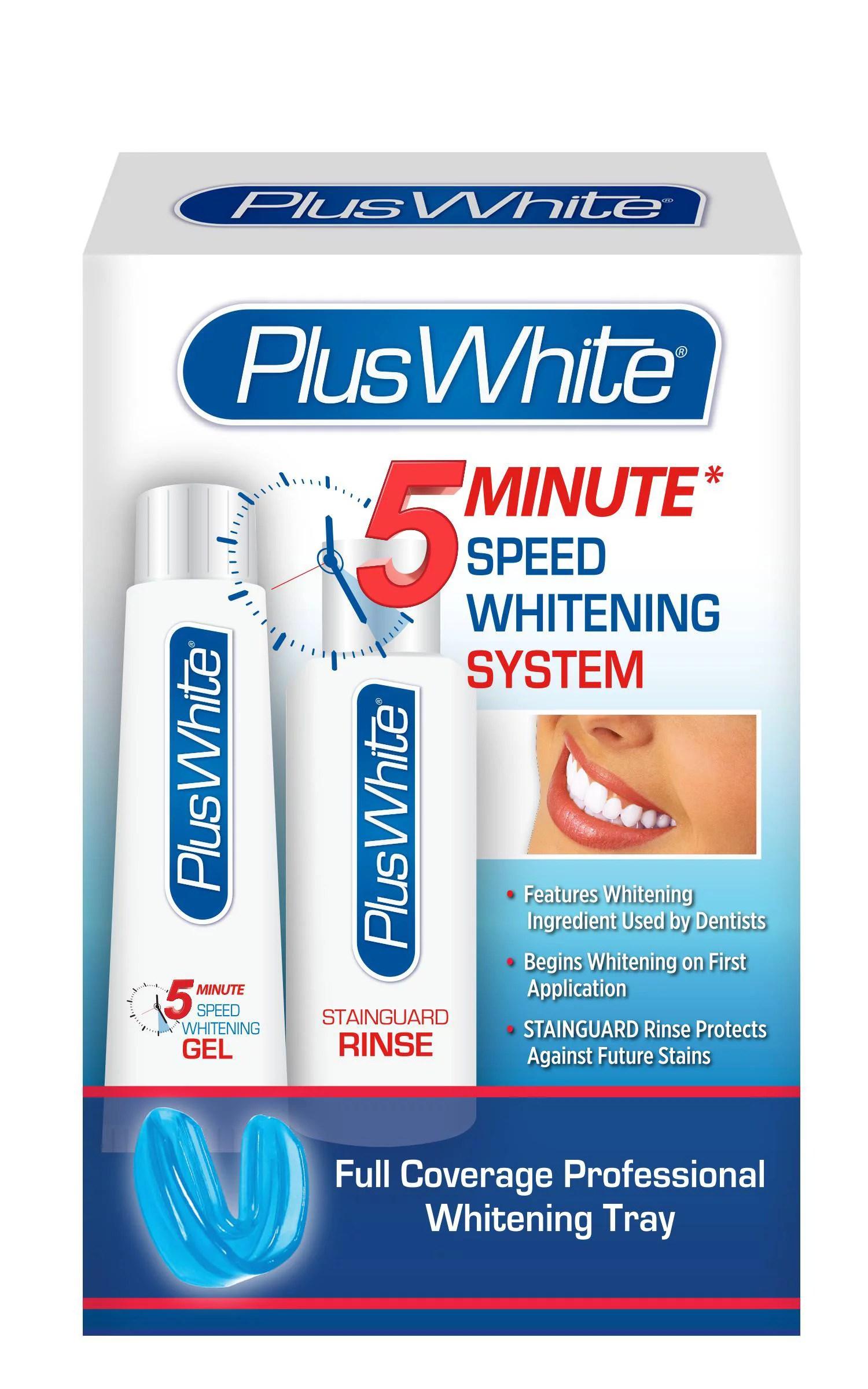 Tooth Repair Kit Walmart : tooth, repair, walmart, White, Minute, Premier, Speed, Teeth, Whitening, System, Walmart.com