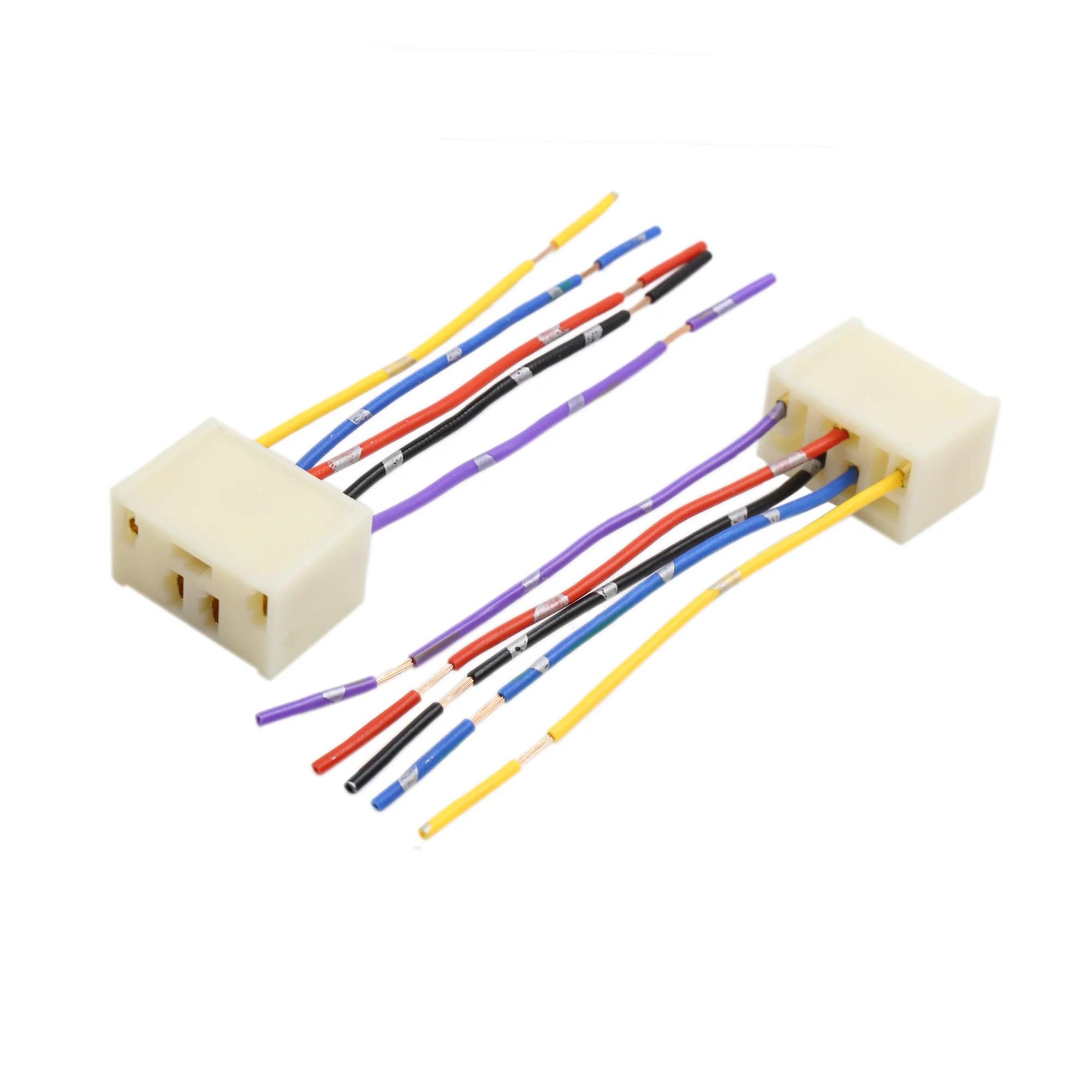 4pcs dc 12v 5 pin car power window switch socket wiring harness plug 3 wire harness repair window [ 2000 x 2000 Pixel ]