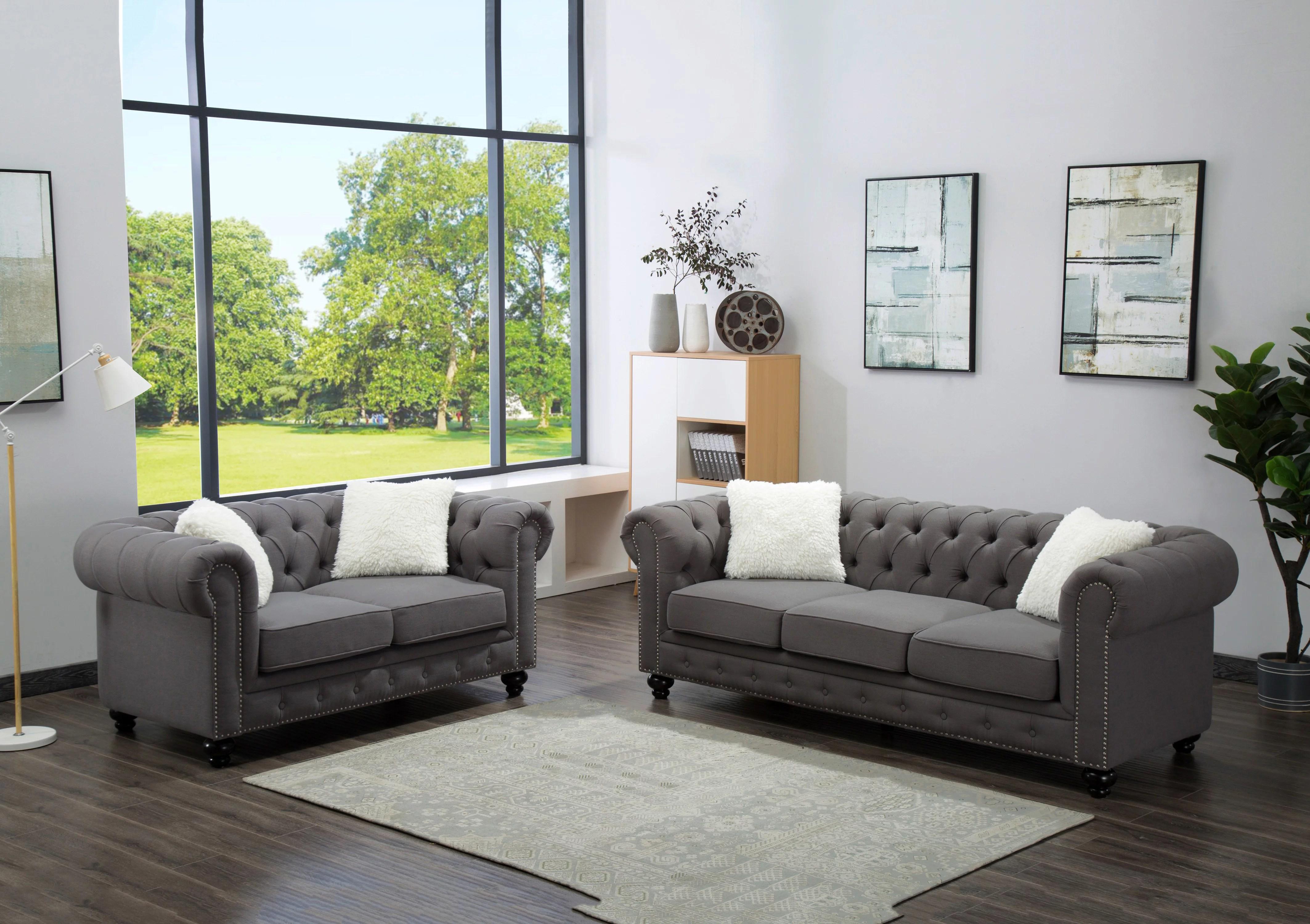 Best Quality Furniture Living Room set Sofa  Loveseat