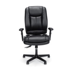 Leather Executive Office Chair Pride Lift Controller Essentials By Ofm Ess 6050 Ergonomic High Back Black Walmart Com