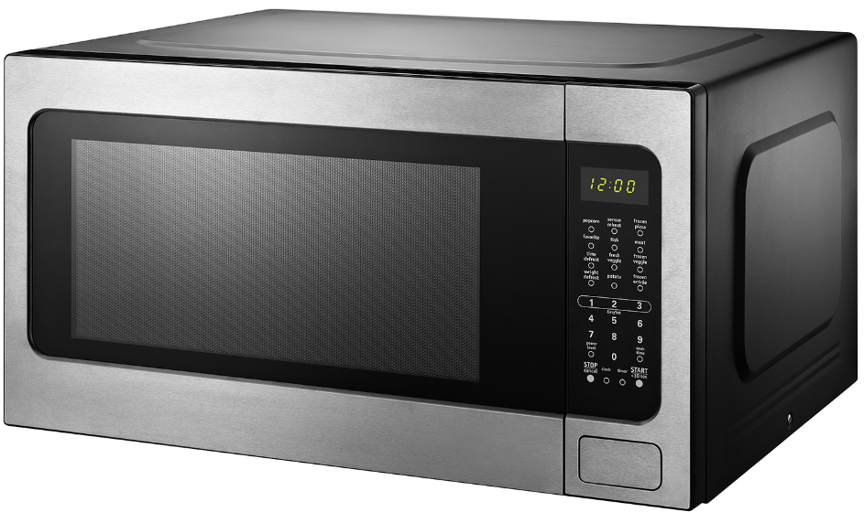 black decker em262amy phb 2 2 cu ft microwave with sensor cooking stainless steel